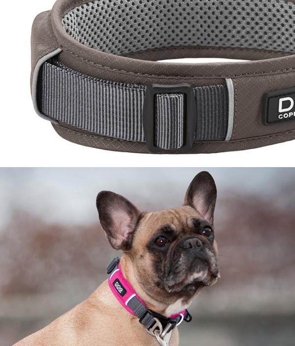 ソフトパッド構造により首や喉にやさしい使い心地|犬グッズ通販HAU