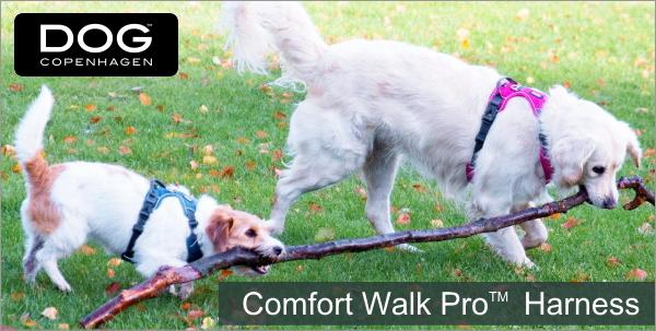 お散歩におすすめ やわらかいパッドで快適なデンマーク犬用胴輪|ドッグコペンハーゲン コンフォートウォークプロハーネス|HAU