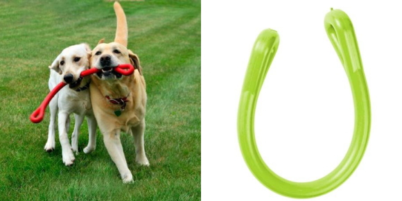 丈夫で壊れない犬用おもちゃとして人気!|パーフェクトドッグトイ(噛む、投げる)|犬グッズ通販HAU