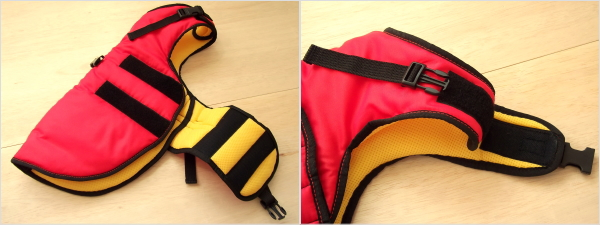 冬用犬の服/防寒用ドッグウェア|MANMAT サーモコート 簡単着脱、マジックテープ|犬グッズ通販HAU