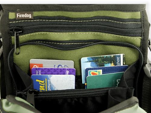 カードがたくさん入る犬用かばん|FIREDOG ドキュメントショルダーバッグ(愛犬とのお出かけ用オーナーバッグ)