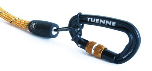 安全性を高めた誤開放防止カラビナ付リード|TUENNE マンモスリーシュ(スクリューゲートカラビナ付き犬用リード)|犬グッズ通販HAU