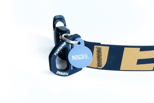 TUENNE マンモスカラー(ウォータープルーフ犬用首輪)|軽量・丈夫なアルミニウム製Dカン|犬グッズ通販HAU
