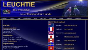 LEUCHTIE ロイヒティ|日本取り扱い、販売代理店(ディーラー)|犬グッズ通販HAU