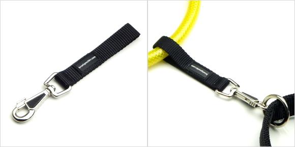 ナスカン付接続用ストラップ|LEDドッグカラー LEUCHTIE(犬用セーフティーライト)|犬グッズ通販HAU