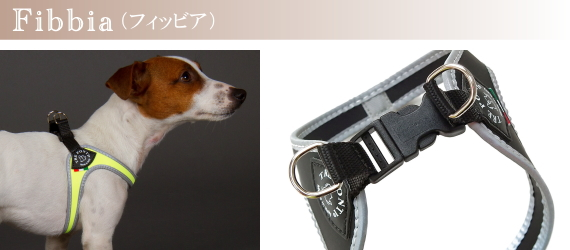 Tre Ponti(トレ・ポンティ)犬用ハーネス《Fibbia》の特徴|犬グッズ通販HAU