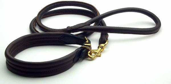 革製首輪、革製リード|ポーランド製レザーカラー&リーシュ|犬グッズ通販HAU